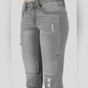🆕️ KANCAN Moto Skinny Low-Rise Jeans